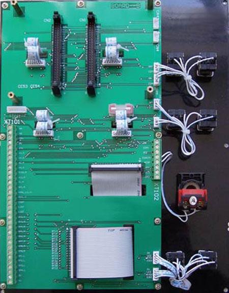数控机床电器柜接线图